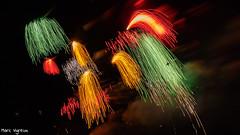 Jeudi étoilé (MarcEnGalerie) Tags: nocturne livecomp fireworks poselongue nightly nocturnal livecomposite feudartifice longexposure istres provence france fra