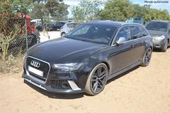 Audi RS6 Avant C7 (Monde-Auto Passion Photos) Tags: voiture vehicule auto automobile rs6 avant break c7 noir black sportive familiale france fontainebleau audi
