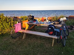 Day 3 - Jacques Cartier Provincial Park (Bobcatnorth) Tags: princeedwardisland canada summer 2018 pei cycling bicycle touring bicycletouring camping sightseeing