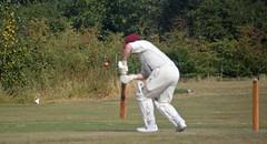 Cricket at Rayne Aug4th 365/216 (Aidan B Kelly) Tags: cricket village sport england essex stumps bat cap