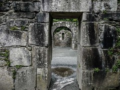 St Kevin's Glendough (Wanda Amos@Old Bar) Tags: ireland wandaamos ancient architecture doorway old portal stone wallabipoint window