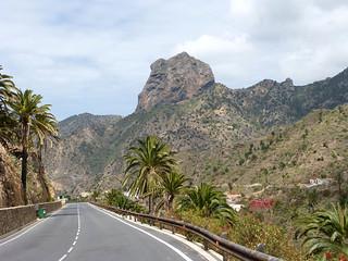 Látkép a Cano-sziklára