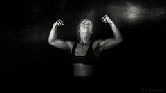 Revelation of Inner Strength (JDS Fine Art Photography) Tags: strength inspiration light illumination innerstrength fitness dramatic amazon muscles bw monochrome woman