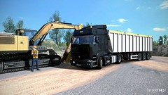 Elbląg (lanker44) Tags: ets2 trucks truck daf xf renault premium