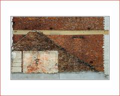 texture     bricks     pattern (photoABRUZZO) Tags: pattern texture gableend empty space emptyspace newcastle tyneandwear