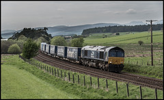 66302 Bardrill Road (jbg06003) Tags: class66 drs shed freight intermodal