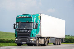 Scania R500 II V8 Topline (PL) (almostkenny) Tags: lkw truck camion ciężarówka scania r500 topline v8 hp500 pl polska poland wpi36898