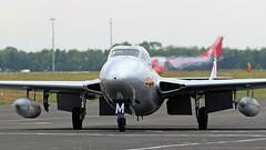 WZ447 DE HAVILLAND VAMPIRE NEWCASTLE (toowoomba surfer) Tags: aircraft aviation aeroplane ncl egnt