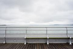 Garth Pier (cybertect) Tags: bangor carlzeissdistagont35mmf28mm garthpier gwynedd jjwebster menaistraits sonya7ii wales handrail pier