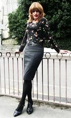 Time for a Walk (Amber :-)) Tags: grey pencil skirt tgirl transvestite crossdressing