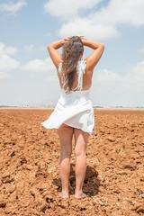 So much heat and drought. (Azariel01) Tags: 2018 espagne españa spain murcia losbeatos ruines ruins heat chaleur désert desert decay destroyed détruit angel ange burnt brûlé dry sécheresse dryness endofworld findumonde field champ
