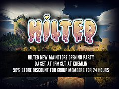 HILTED - New Mainstore opening 50% off! (HILTED) Tags: second life sl hilted store online game adult