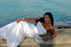 Rebin (tacosnachosburritos) Tags: lake michigan chicago olive park indian model girl woman chick lady hot bronze brown beautiful exotic gorgeous wedding dress