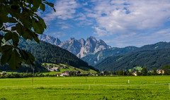 Tranquility (Nishant Panigrahi) Tags: ifttt 500px rural scene country road meadow countryside mountain range field hill nonurban scenery rolling landscape snowcapped mountains austria europe