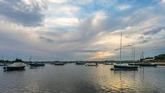 Incoming Tide at Sunset (THE NUTTY PHOTOGRAPHER) Tags: boshamharbour boshamquays boshammoorings bosham westsussex boatsatlowtide boats sunset skys
