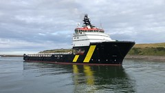 Caledonian Vigilance - Aberdeen Harbour Scotland - 13/8/18 (DanoAberdeen) Tags: aberdeen mpeg video danoaberdeen psv abdn abz offshore seafarers harbour seaport docks riverdee northsea workboats supplyships cargoships tug tugboats autumn summer winter spring blue sky clouds candid amateur 2018 grampian lifeatsea metal errv oilships tanker caledonianvigilance uk maritime 4k iphonevideo water cloudporn torry footdee fittie ship vessel boat shipspotting geotagged aberdeenscotland scottish northeast seashore coastline tugboat oil oilindustry pocraquay northeastscotland northseasupplyvessels northseacargoships vessels boats scotland danophotography