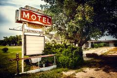 motel, electrically heated (jody9) Tags: oldmotelsign nebraska abandoned