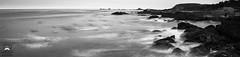 Panoramic from Slow Motion Breaking Waves (allentimothy1947) Tags: california carmel monetereycounty ndfilter us1 landscape monterey ocean pointlobospark rocks slow statepark tripod wavers waves