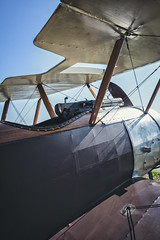 Sopwith Pup - Wings & Wheels Spectacular @ Owls Head Transportation Museum, Maine (Jonmikel & Kat-YSNP) Tags: owlsheadtransportationmuseum maine me midcoast midcoastmaine mainecoast ohtm airshow summer festival vintage planes