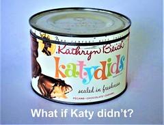Katydids billboard (STUDIOZ7) Tags: katydids candy can 1960s 60s sixties ad advertisement spoof parody humor meme kathrynbeich billboard outdoor advertising chocolate susiehug