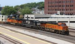 BNSF Stack (steamfan1211) Tags: bnsf railroad railway trains locomotives kansascity