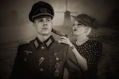 Fraulein, you've just signed your own deathwarrant? (sophie_merlo) Tags: war wartime resistance ww2 holland netherlands