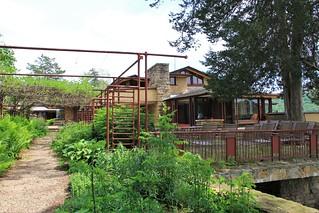 Taliesin pipe garden