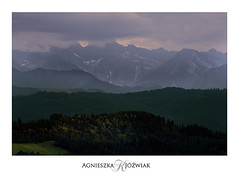 Just before a stormy sunset. (smoothna) Tags: smoothna sigma1020mm d90 mountains poland nature sunset stormy