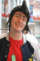 Space Dandy - Close Up (NekoJoe) Tags: amecon amecon2018 ame ame2018 animeconvention closeup convention cosplay cosplayer coventry england gb gbr geo:lat=5237965985 geo:lon=156148285 geotagged midlands spacedandy uk unitedkingdom warwickartscentre