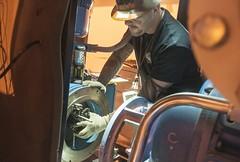 Blue Grass Chemical Agent-Destruction Pilot Plant Utility Building (PEO, Assembled Chemical Weapons Alternatives) Tags: acwa assembledchemicalweaponsalternatives bluegrasschemicalagentdestructionpilotplant kentucky bgcapp bluegrass hardhat motor installation gloves
