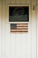 American Pride (Travis Estell) Tags: 35mmfilm americanflag americana armynavy1984 canonae1 kodakportra160 massillon massillononfilm ohio ohioonfilm portra160 thedarkroomlab unitedstates us