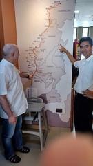 Viaje de Quevedo a la península de Santa Elena