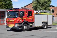 Humberside - YJ13GOX - Calvert Lane - WrT (matthewleggott) Tags: humberside fire rescue service engine appliance hull west calvert lane yj13gox scania emergergency one wrapped pump