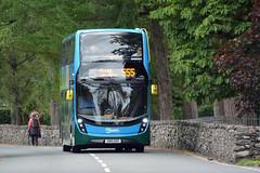 10562 (Callum's Buses and Stuff) Tags: dennis enviro400 bus buses dennins denis stagecoach cumbria keswick 555 mx55krd lake lakedistrict enviro 400 alexander grasmere