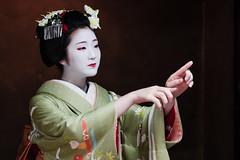 Maiko (Zhan T) Tags: maiko geiko geisha kyoto japan gionhigashi kimono portrait hinayu 雛佑