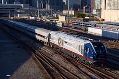 180506_08_AMTK4603_383ilZphr (AgentADQ) Tags: amtrak passenger train trains chicago union station illinois roosevelt road 383 zephyr siemens sc44 charger amtk 4603 midwest