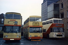 Yelloway VRS 145L, OJD 126R, PRR 123L (SelmerOrSelnec) Tags: yelloway daimler fleetline alexander vrs145l leyland parkroyal ojd126r bristol vr ecw prr123l rochdale weirstreet aberdeen londontransport dms eastmidland bus