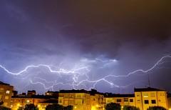 Sound of nature (franlaserna) Tags: noise architecture sound nature light cityscape city lightning storm