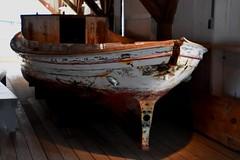 Small Boat Shed: Chesapeake Bay Small Craft (Chesapeake Bay Maritime Museum Photos) Tags: small boat shed cbmm chesapeakebaymaritimemuseum chesapeake history log built vbottom