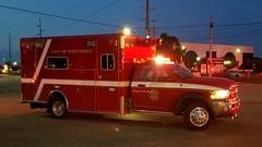 Medic 152 (Central Ohio Emergency Response) Tags: whitehall ohio fire division department truck ambulance medic ems dodge ram horton