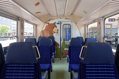 RhB Arosabahn - Bear Carriage (Kecko) Tags: 2018 kecko swiss switzerland schweiz suisse svizzera graubünden graubuenden gr chur railway railroad bahn eisenbahn bahnhof station train zug bärenlandzug bärenland rhb europe rhätischebahn viafierretica rhaetianrailway arosabahn b2319 swissphoto geotagged geo:lat=46853960 geo:lon=9530740