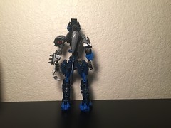 Midnight Update (xFlashDx) Tags: lego bionicle action figure toy 2018 blue black silver grey gray technic sniper rifle combat knife
