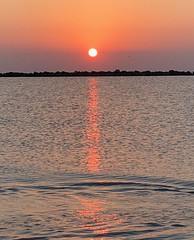 iph8131 (gzammarchi) Tags: italia paesaggio natura mare ravenna lidoadriano alba sole riflesso scoglio explore poesia haiku