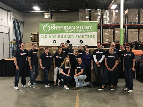 US Bank Packing Event 8/9/18