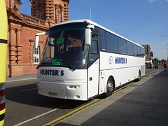Hunters SN61ABX Nottingham (Guy Arab UF) Tags: hunters daventry sn61abx vdl bova fhd127 coach nottingham station rail replacement bus service buses