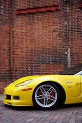 C6 Z06 (Eric Flexyourhead) Tags: minato minatoku 港区 osaka osakashi 大阪市 kansai 関西地方 japan 日本 museum carmuseum glionmuseum car american detail fragment chevrolet corvette z06 chevroletcorvette corvettez06 c6 yellow bright vibrant vivid sonyalphaa7 zeisssonnartfe35mmf28za zeiss 35mmf28
