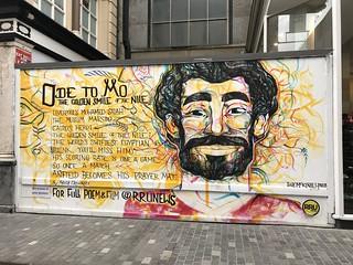 Mo Salah Mural - Liverpool FC - Liverpool City Centre - August 2018