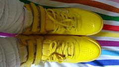 Reebok Freestyle Hi Platform Yellow (perry515) Tags: reebok freestyle free style high hi top rbk fs platform yellow classic aerobic shoe boot 1980s