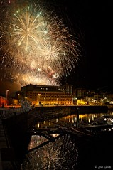 My hometown (galavardo) Tags: sony a7ii 28mmf2 gijón asturias españa spain fuegosartificiales fireworks freehand