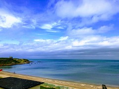 My love 💙 (akerrzz) Tags: walk coastal cloud sand beach summer tranquility lunchhour grass green balbriggan codublin ireland sea blue ocean